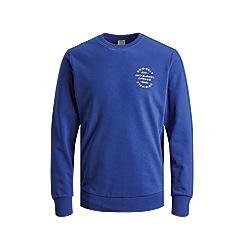 Jack & Jones - 'Blue 'Neo' Crew Neck Sweatshirt