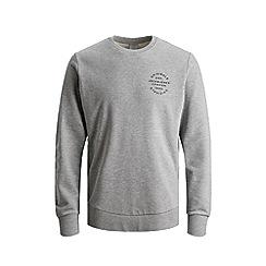 Jack & Jones - 'Grey 'Neo' Crew Neck Sweatshirt