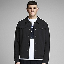 Jack & Jones - 'Black 'Seth' Sweat Trucker Jacket
