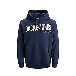Jack & Jones - Navy 'Pradi' Hoodie