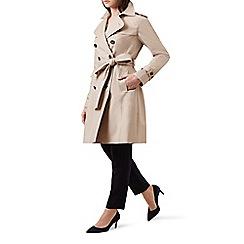 Hobbs - Beige 'saskia' trench coat