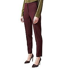 Hobbs - Maroon 'Gael' trousers