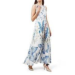 Hobbs - Ivory 'Gardenia' dress
