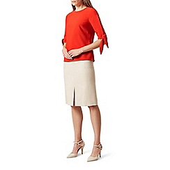 Hobbs - Bright orange 'Savannah' top