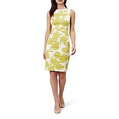 Hobbs - Yellow 'Cleo' dress