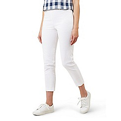 Hobbs - White 'Mallory Capri' trousers