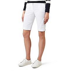 Hobbs - White 'Bay' shorts