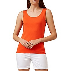 Hobbs - Orange 'Holden' tank top