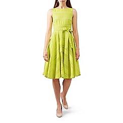Hobbs - Bright yellow 'May' dress