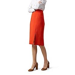 Hobbs - Orange 'Nina' skirt