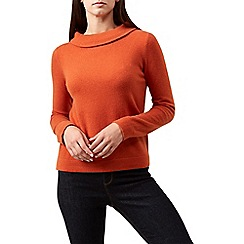 Hobbs - Orange 'Audrey' sweater