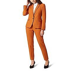 Hobbs - Orange 'Odella' jacket