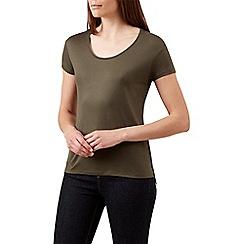 Hobbs - Green 'Belle' t-shirt