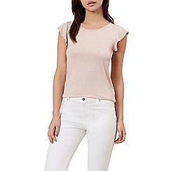 Hobbs - Pink 'Vanessa' t-shirt