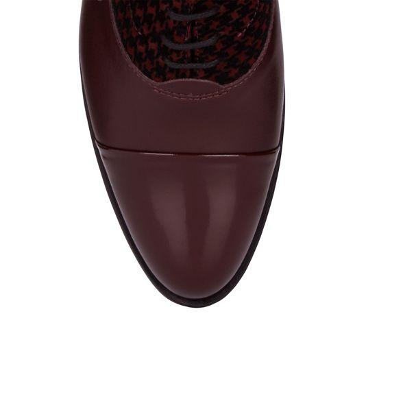 oxford Hobbs Hobbs Maroon 'Kester' shoes Maroon 'Kester' oxford xgFwawfq7