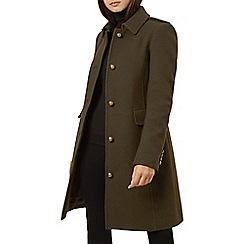 Hobbs - Dark olive 'Martina' coat
