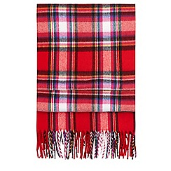 Hobbs - Red 'Eleanor' scarf