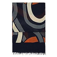 Hobbs - Navy 'edie' scarf