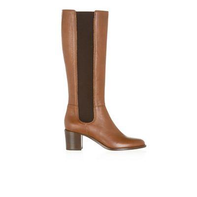 Hobbs - Tan 'Lilie' long boots