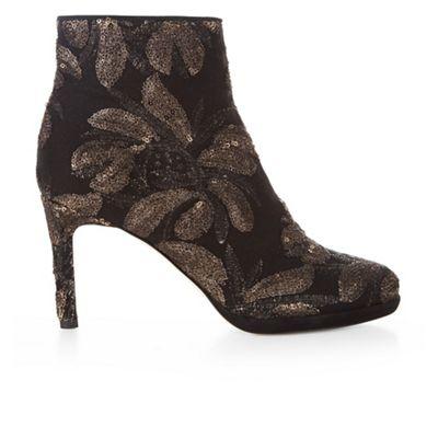 Hobbs - Black 'Julietta' embroidered boots