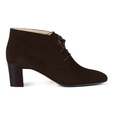 Hobbs - Chocolate 'Patricia' ankle boots