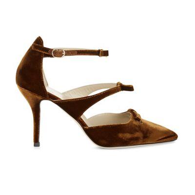 Hobbs - Dark yellow 'Primrose' court shoes