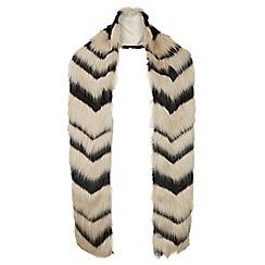 Hobbs - Black 'Gabriella' scarf