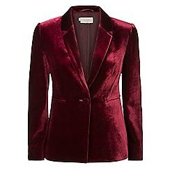 Hobbs - Maroon 'Elva' jacket