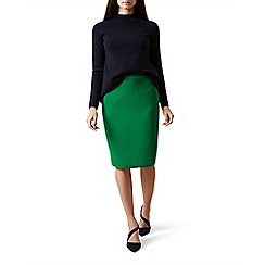 Hobbs - Bright green 'Kira' skirt