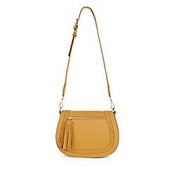 Hobbs - Dark yellow 'Faye' crossbody bag