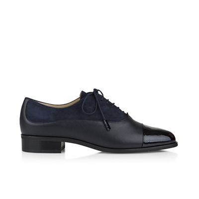 Hobbs - Navy 'Kester' derby Fashionable and eye-catching shoes