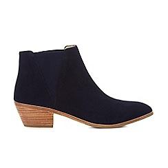 Hobbs - Navy 'Linden' boots