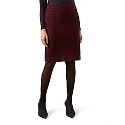 Hobbs - Maroon 'Arianna' skirt