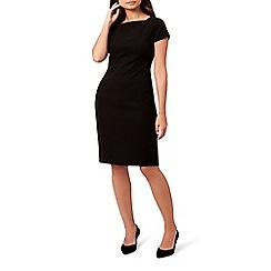 Hobbs - Black 'daniella' knee length pencil dress