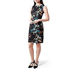 Hobbs - Multicoloured floral print 'Moira' knee length shift dress