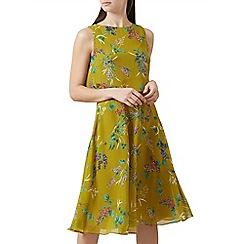 Hobbs - Chartreuse 'Ember' dress