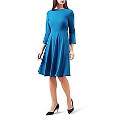 Hobbs - Blue 'Samantha' knee length tea dress