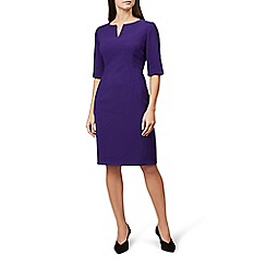 Hobbs - Purple 'Eimear' knee length shift dress
