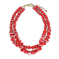 Hobbs - Red 'Liza' necklace