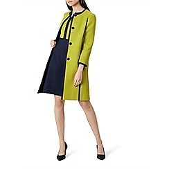 Hobbs - Chartreuse 'Teresa' coat