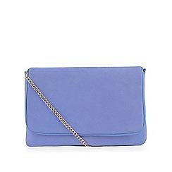 Hobbs - Blue 'Warwickshire' clutch bag