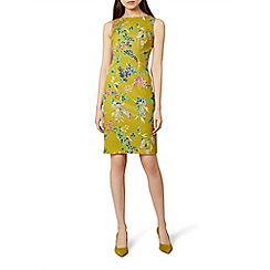 Hobbs - Chartreuse 'Moira' dress