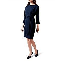 Hobbs - Blue 'renee' knee length shift dress