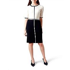 Hobbs - Multicoloured 'serena' knee length pencil dress with wool