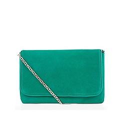 Hobbs - Green 'Warwickshire' clutch bag