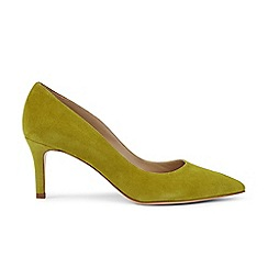 Hobbs - Bright green 'Grace' court shoes