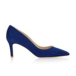 Hobbs - Bright Blue 'Grace' court shoes