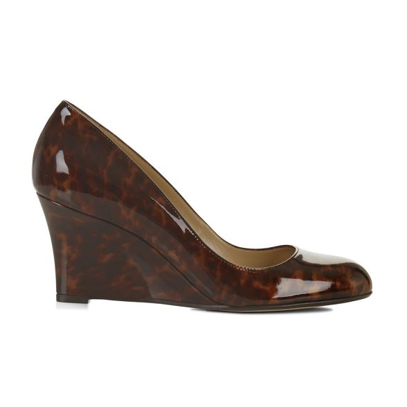 Hobbs Wedge court shoes Brown 'Sophia' xZgxpq6