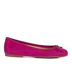 Hobbs - Bright pink 'Prior' ballerina pumps