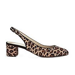 Hobbs - Brown 'Ava' slingback sandals